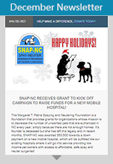 SNAP-NC December 2017 Newsletter